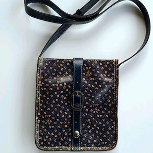Patricia Nash Floral Venezia Leather Crossbody Bag